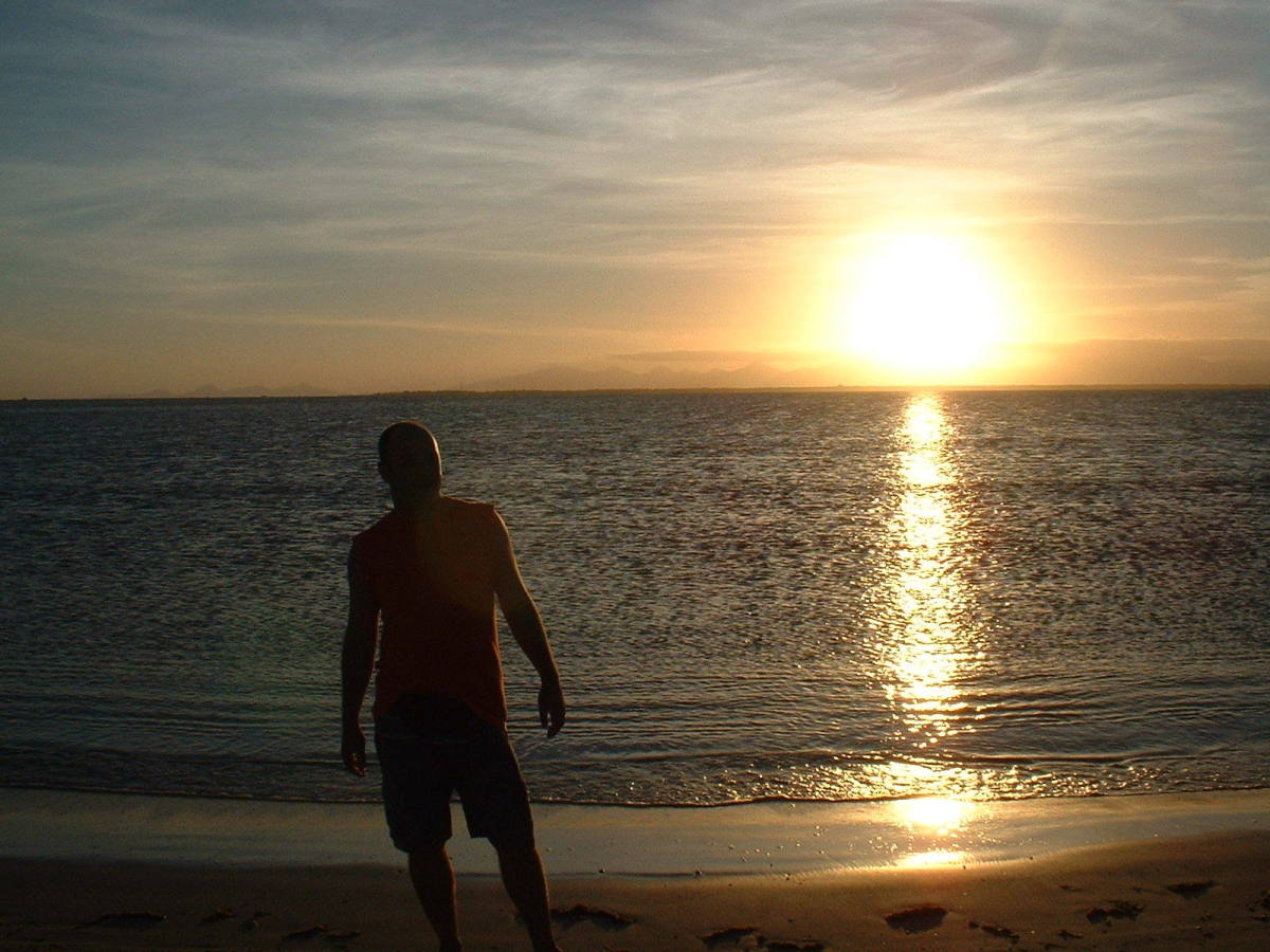 People with OCPD like to be alone. This man standing on a beach alone is an example of an ideal situation for these reclusive types.