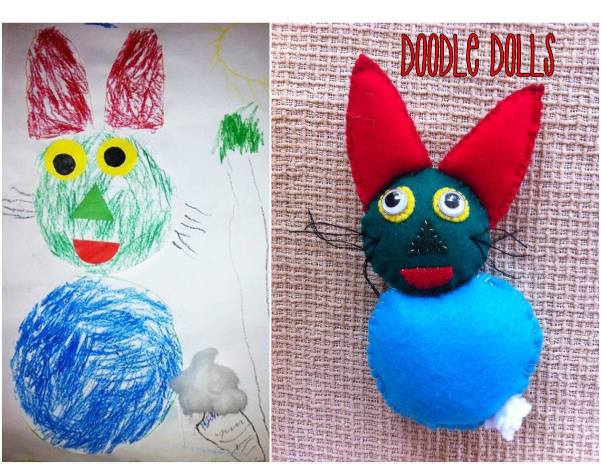 Child's Artwork into Toy
