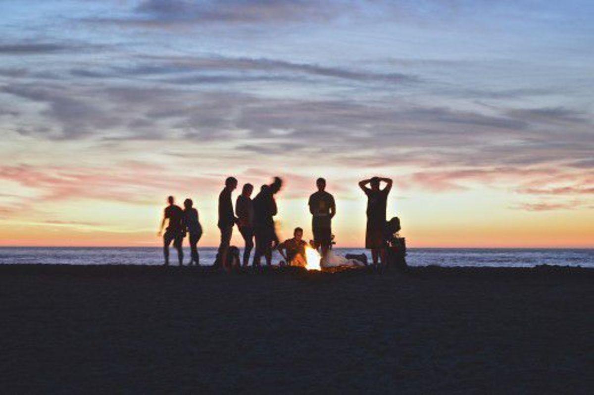 Anti-Prom on the Beach