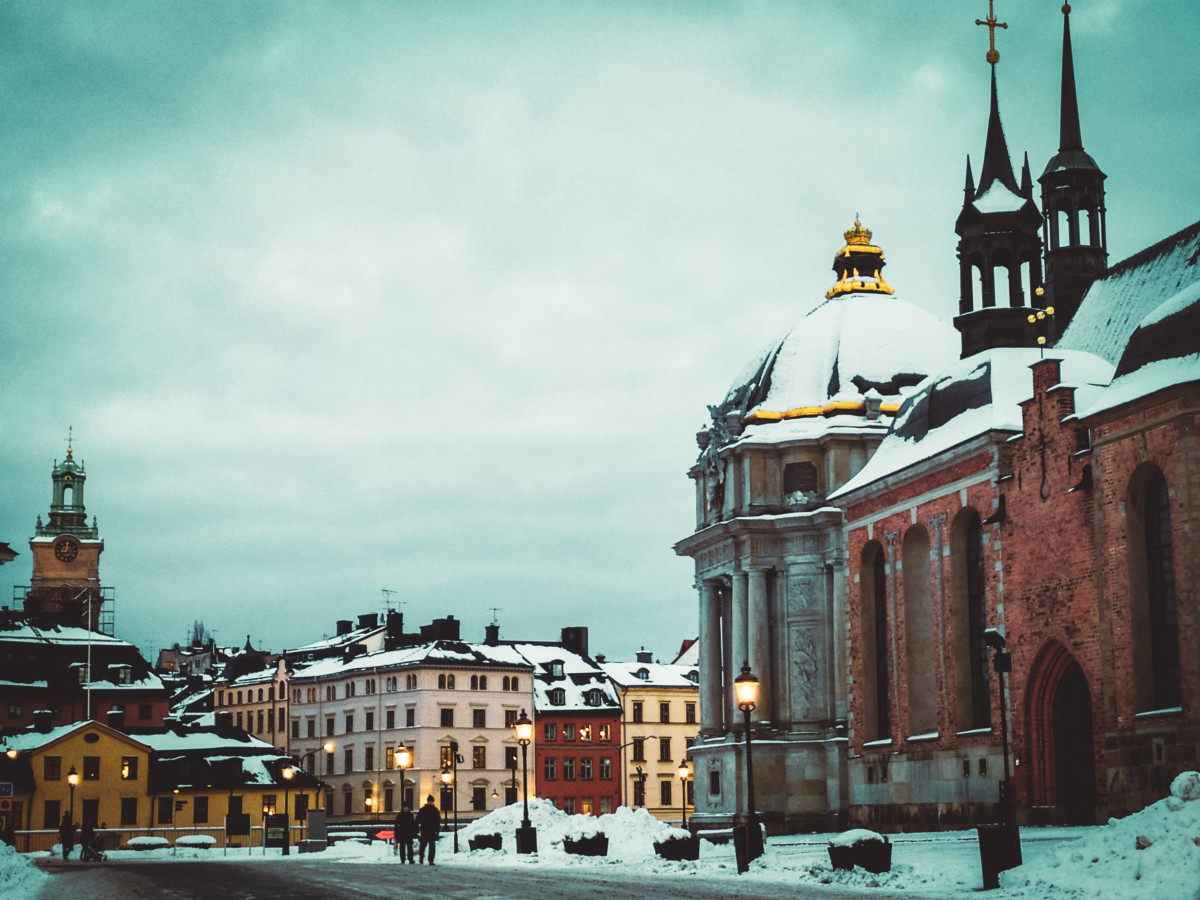 Experiencing the Nordic Winter in Stockholm