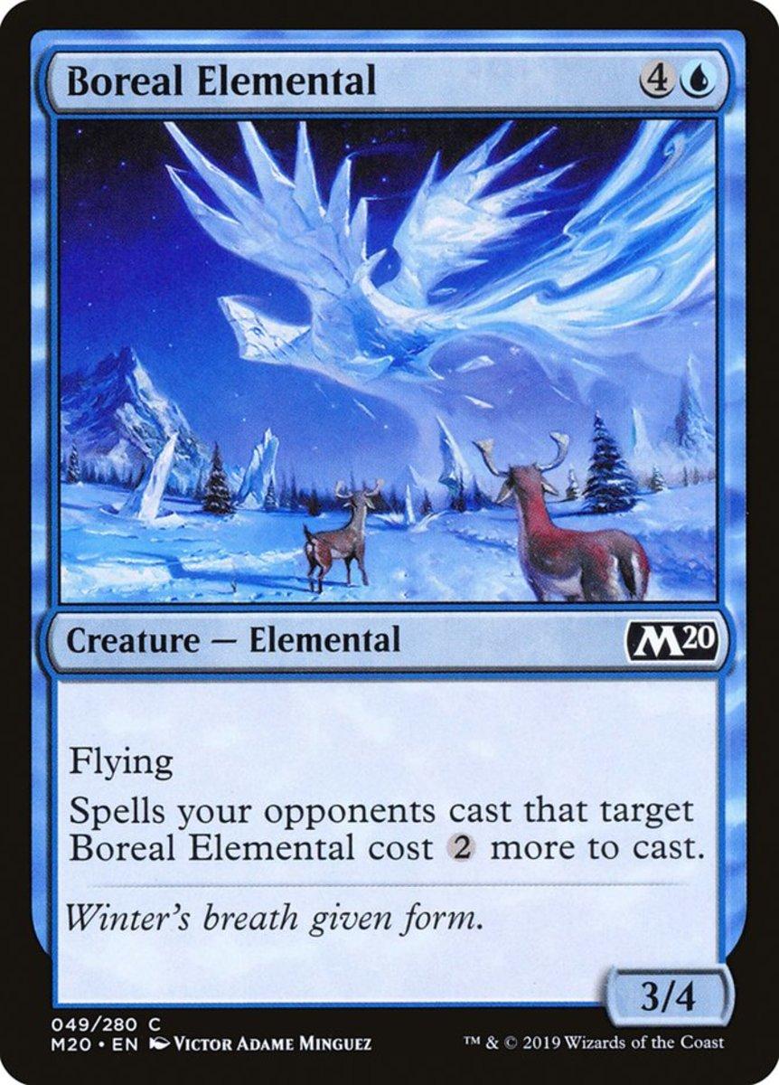 Boreal Elemental mtg