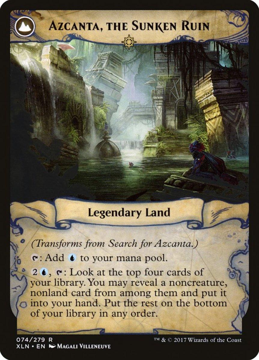 Azcanta, the Sunken Ruin mtg