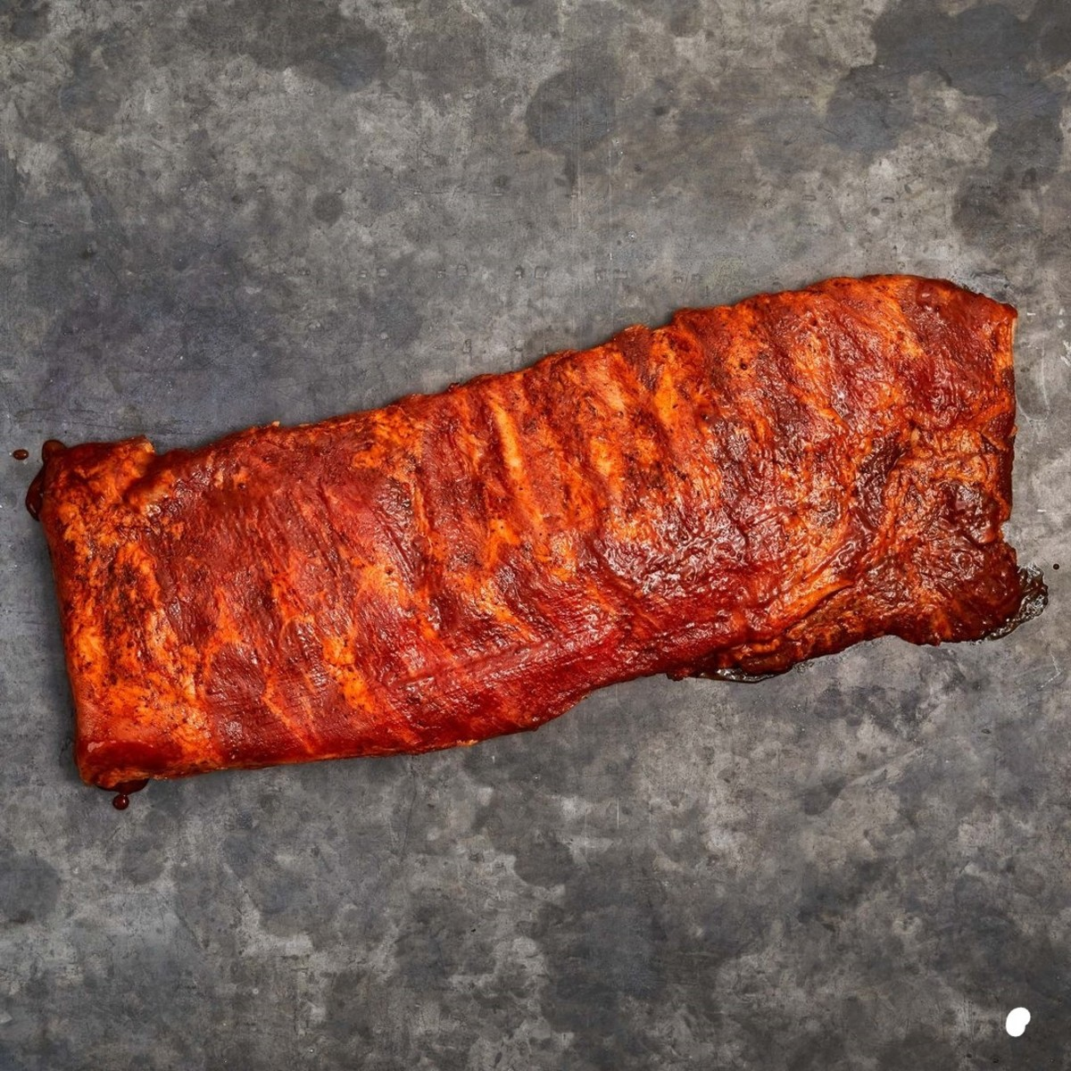 These ribs were smoked using my B.B.Q Rub that is packed with great flavor .