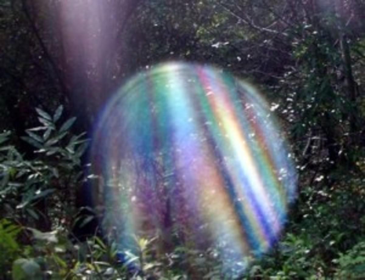 Beautiful Multi Color Orb