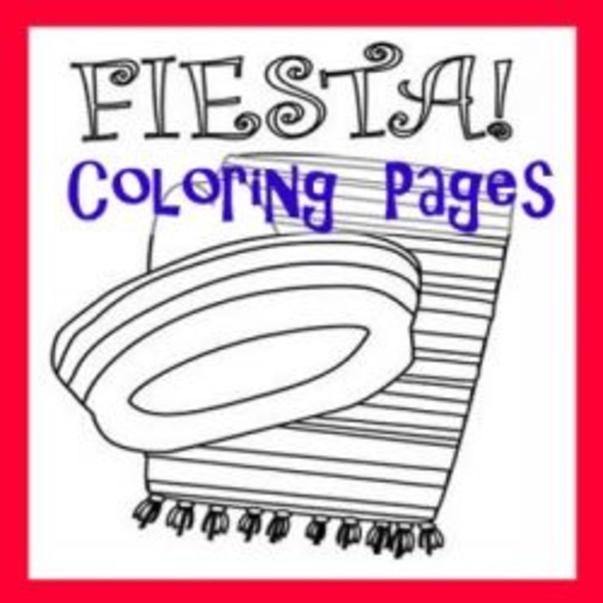 Coloring fiesta cinco de mayo arts and crafts hubpages for Fiesta coloring pages