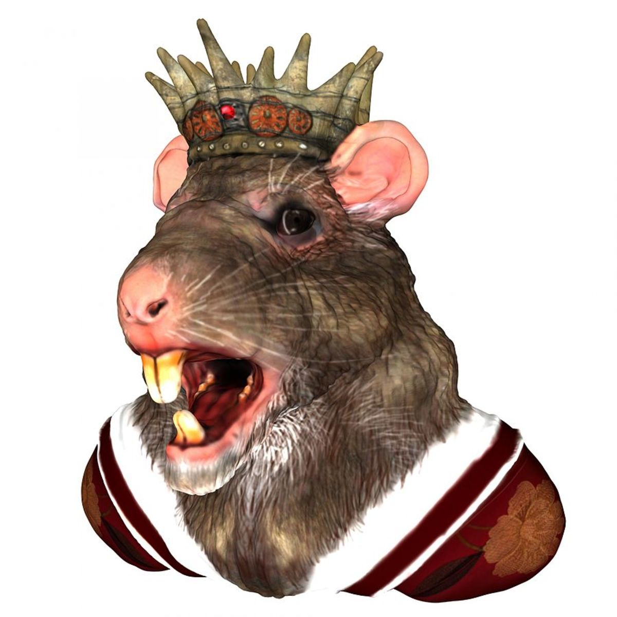 No. Not that kind of rat king.