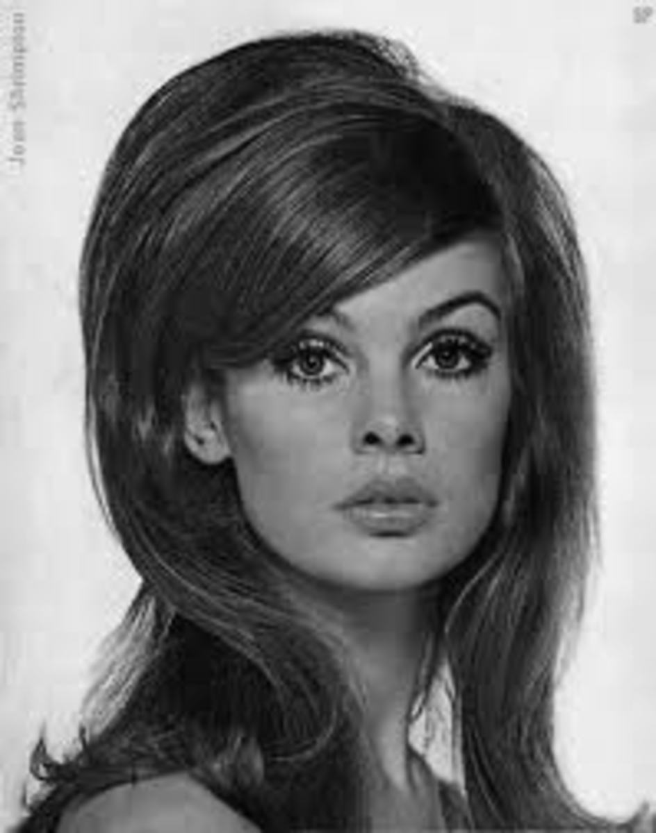 The beautiful model Jean Shrimpton.