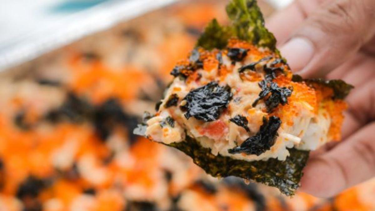 How to Make Sushi Bake