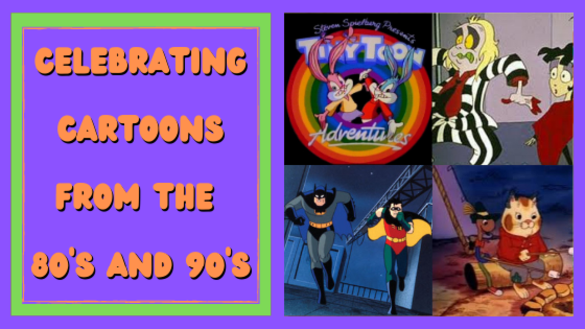 Celebrating Cartoons from the 80's and 90's