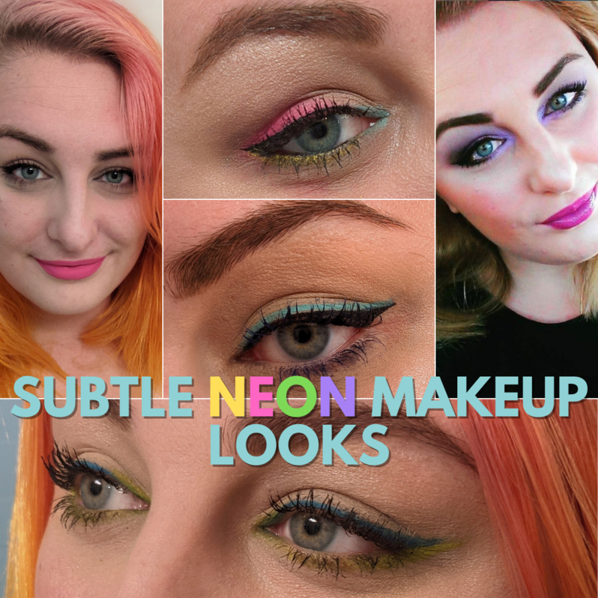 5 Trendy and Subtle Neon Makeup Looks