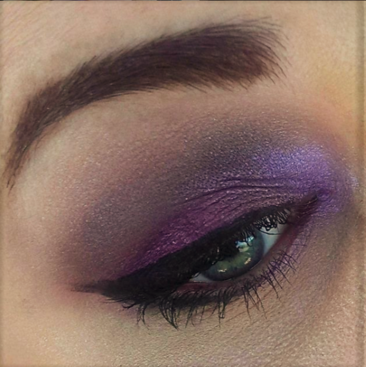 Go bolder in your eyeshadow with neon purples!