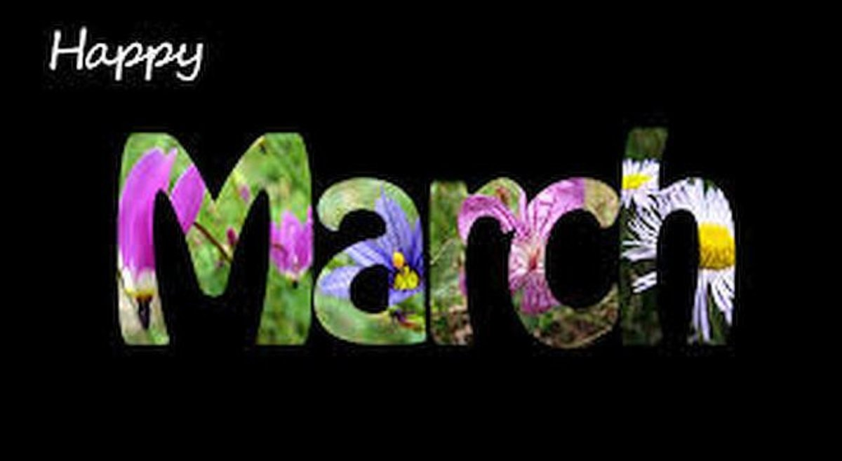 March: Interesting Things about the Month