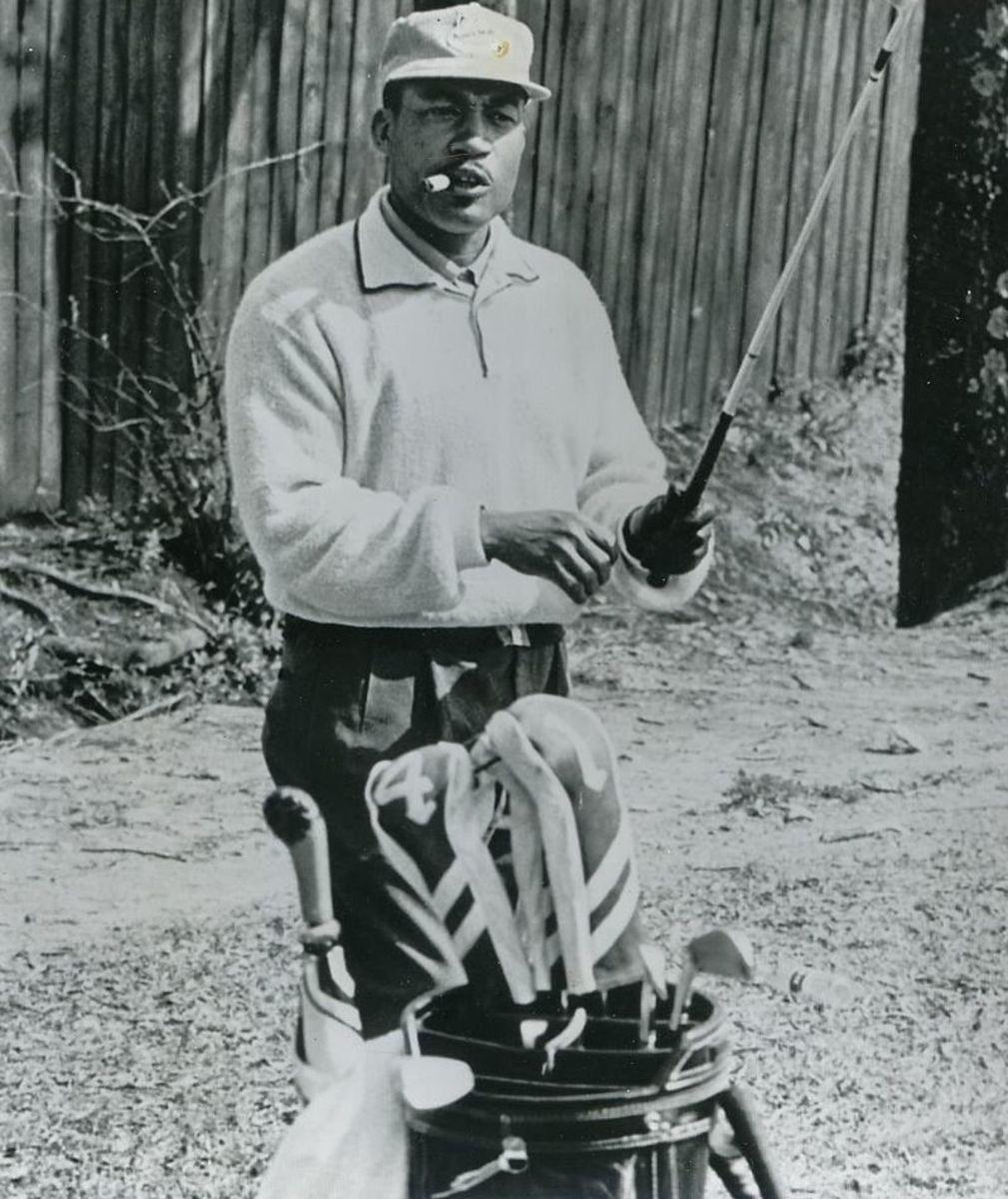 Charles Sifford 1961 winning PGA Card