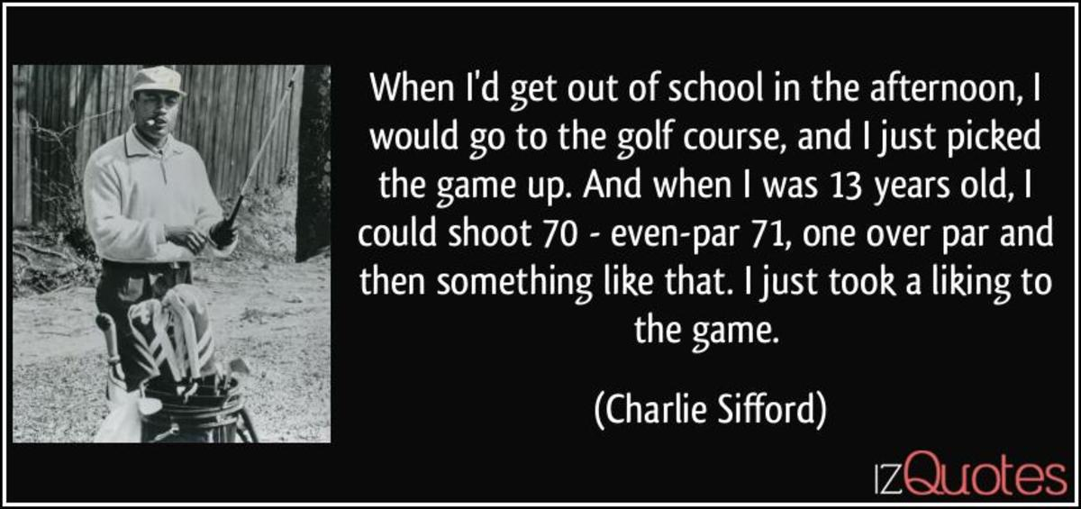 Charles Sifford Quote