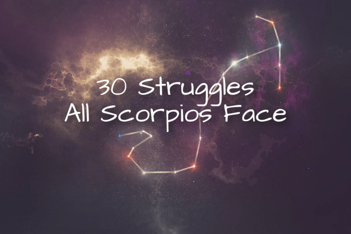 It can be difficult for those with a Scorpio sun sign.