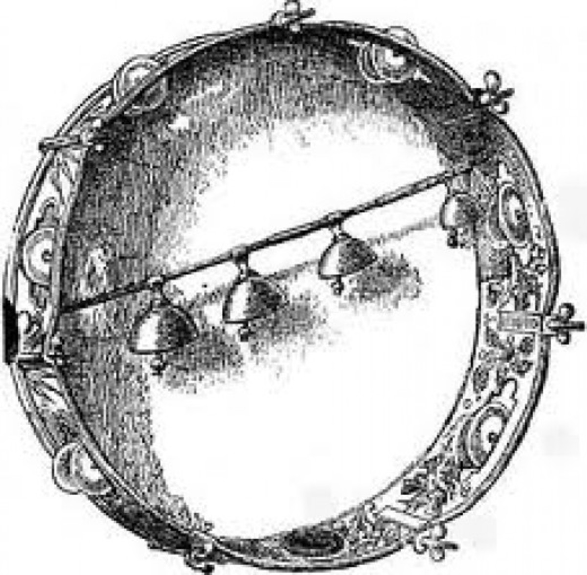 Drums too came in all sizes and at different times were referred to as taborets, tambourines, drums or loud drums.