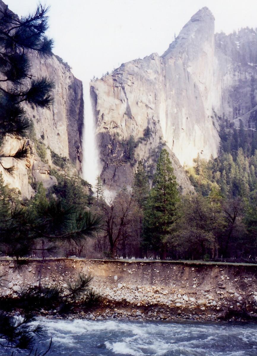 Scenery in Yosemite