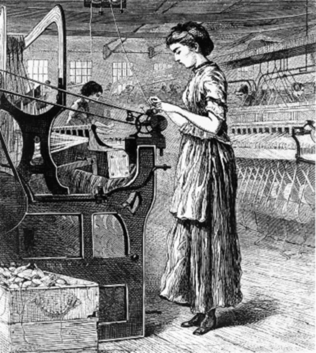 Labour in the Lowell Cotton Mills