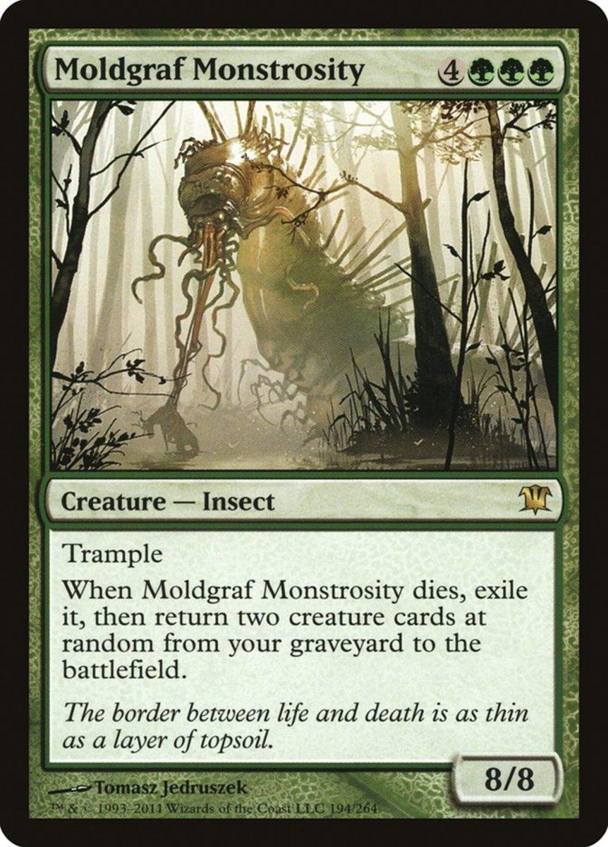 Moldgraf Monstrosity mtg