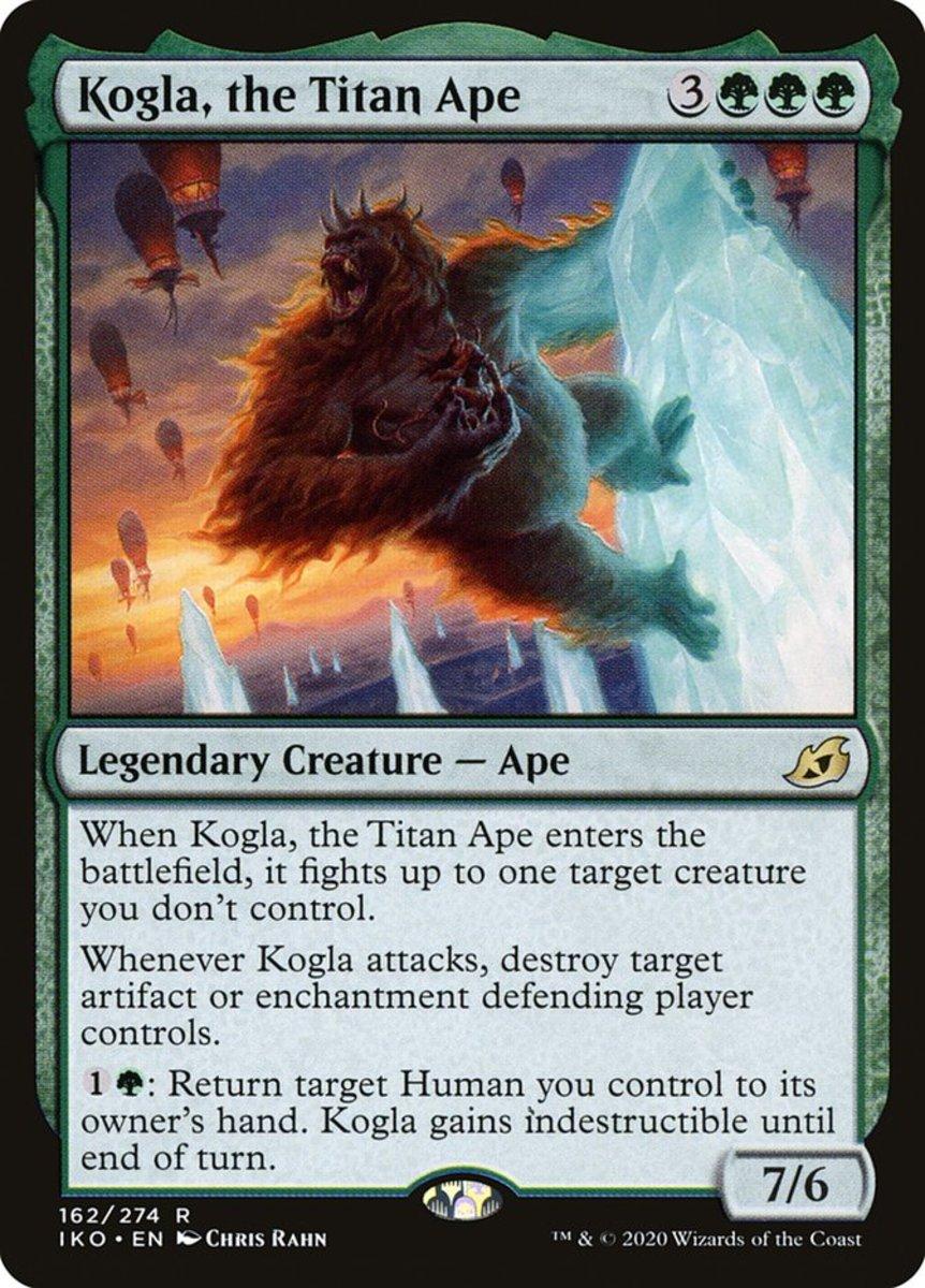 Kogla, the Titan Ape mtg
