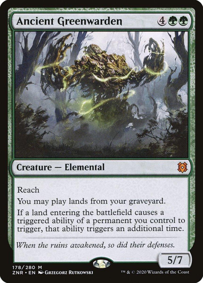 Ancient Greenwarden mtg