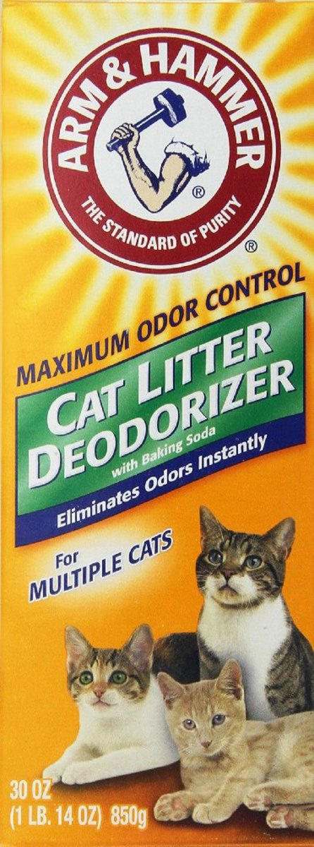 Typical cat deodorizer