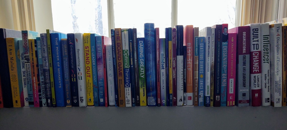Books on Leadership, Learning, and Personal Growth That Led Me Through 2020