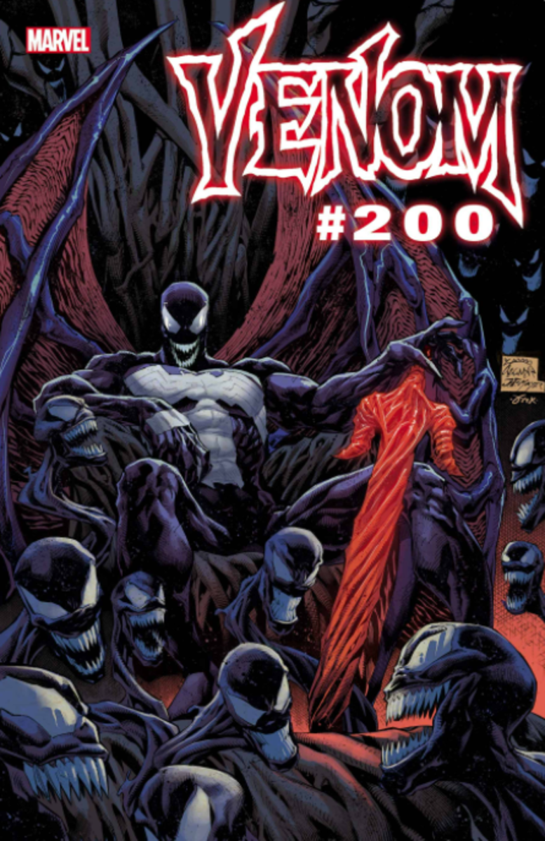 Venom #200 is coming! Don't miss this swan song for Cates and Stegman.