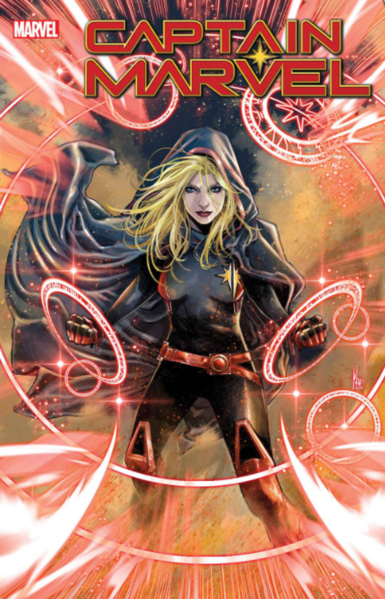 Carol Danvers gets a new costume (and some new powers) in Captain Marvel #28.