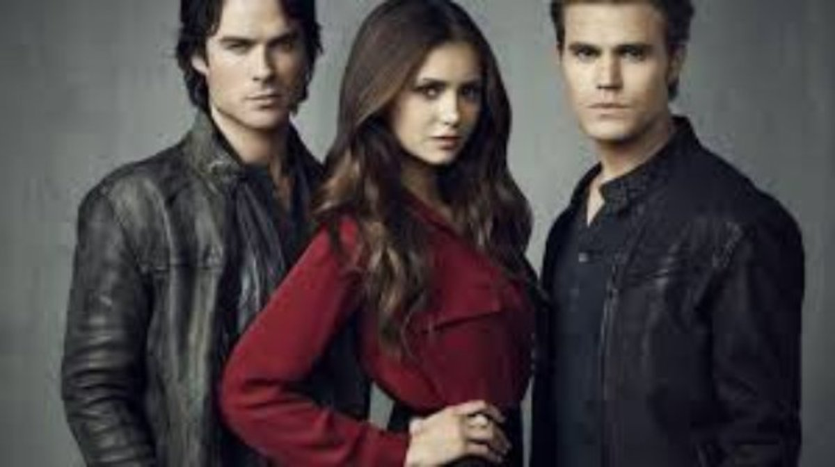 The cast of Vampire Diaries