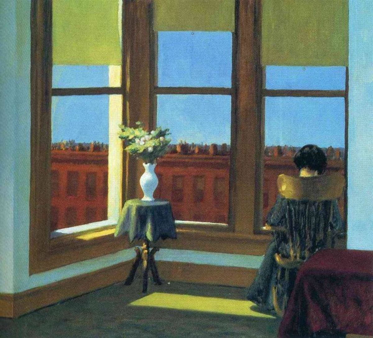 Room In Brooklyn by Edward Hopper