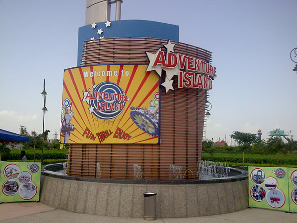 Welcome to Adventure Island - Have fun, get thrilled, and enjoy...