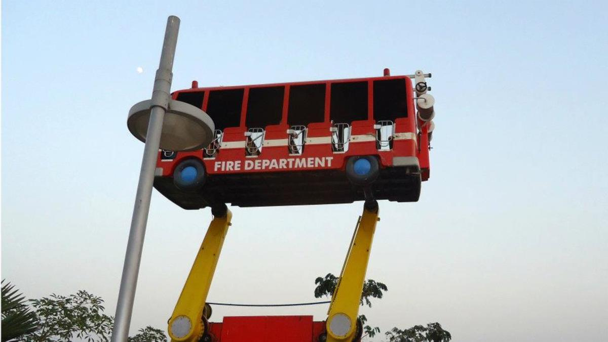 Fire Brigade Ride - Adventure Island Rohini