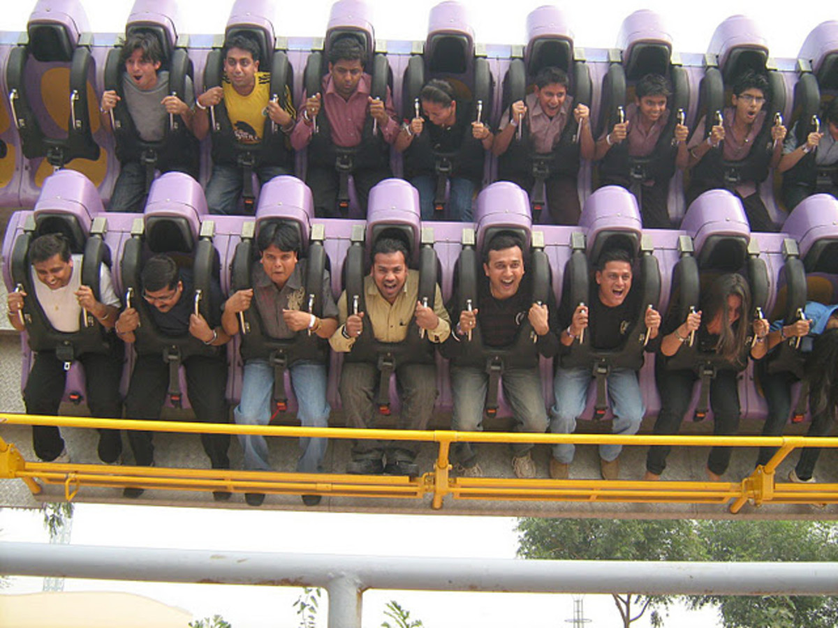 Adventure Island Rohini - Twister Ride