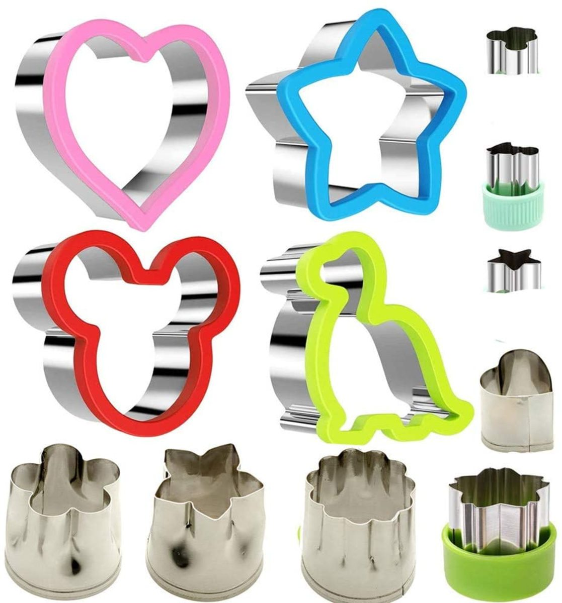 Stainless Steel Sandwiches Cutter set