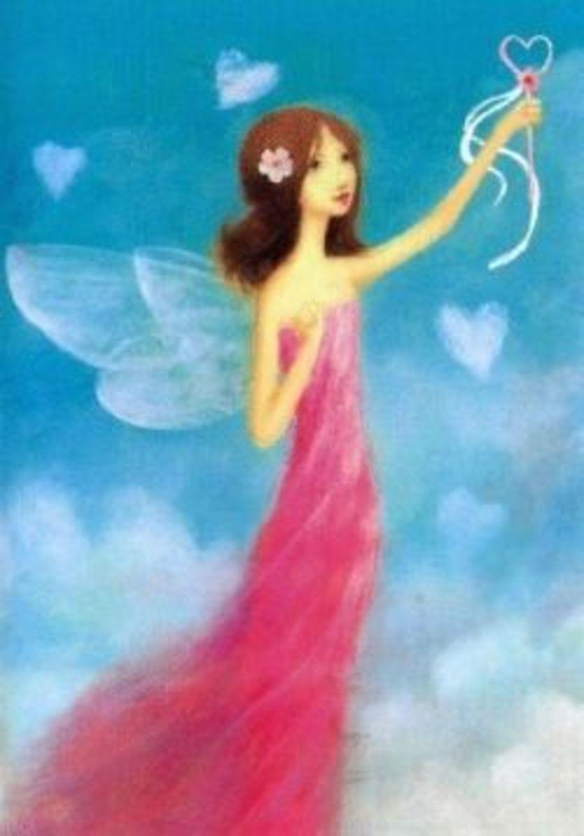 Valentine Fairies Card
