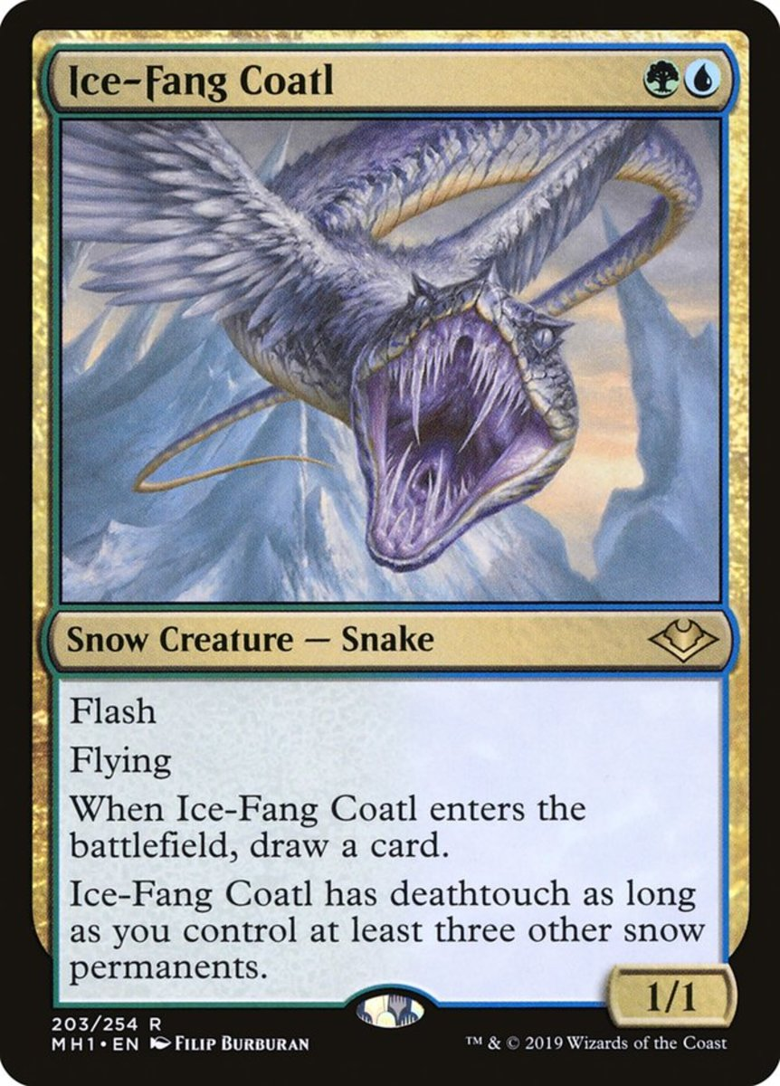 Ice-Fang Coatl mtg