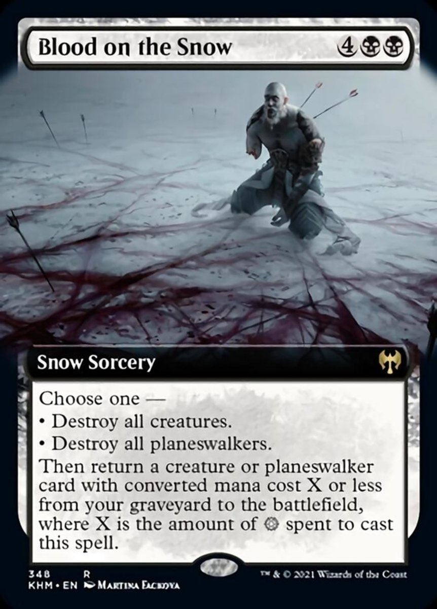 Blood on the Snow mtg