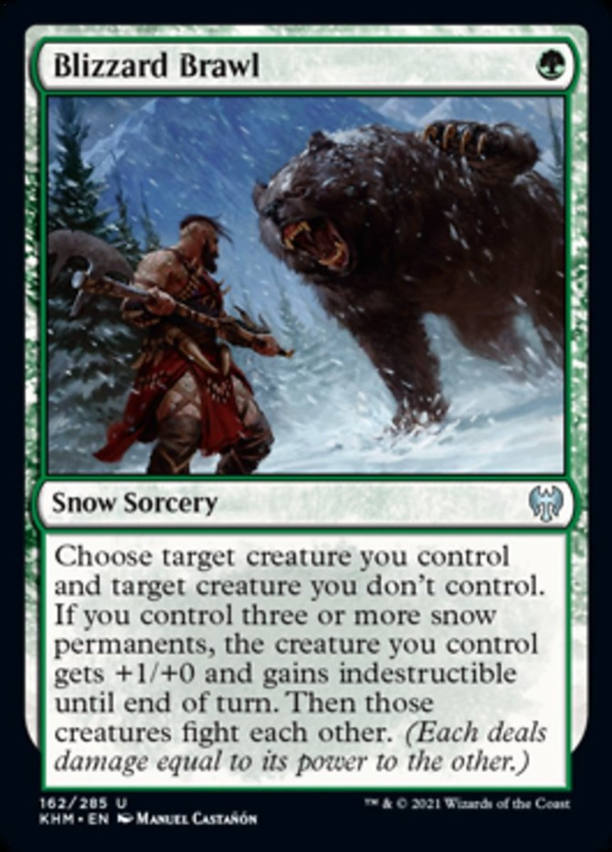 Blizzard Brawl mtg