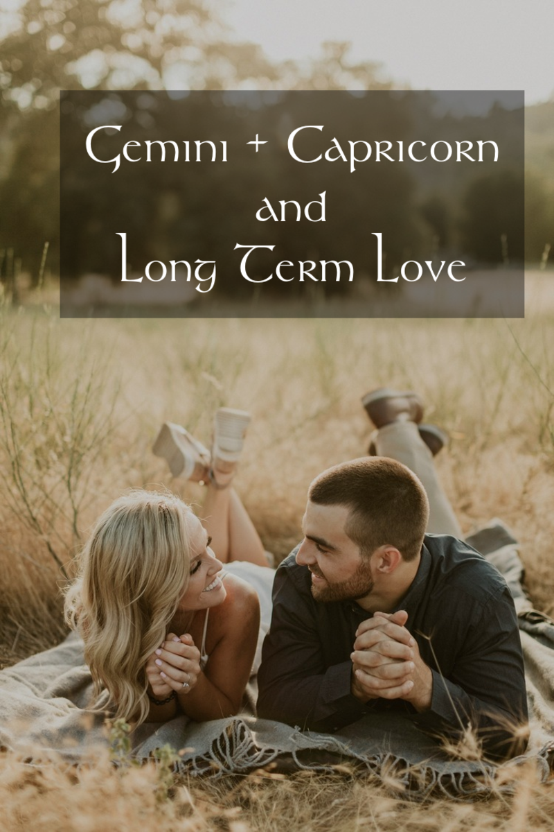 Gemini and Capricorn date ideas: (1) go on nature walks together, (2) take a cooking class or art class together, (3) get up early to watch the sunrise, (4) travel far away just for some ice cream, (5) go on an outing to a rustic farm and dance.