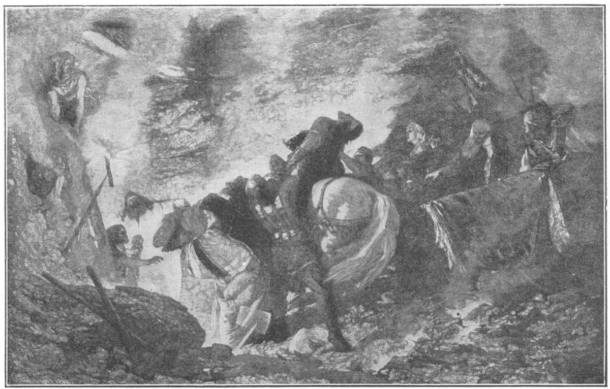 The Burial of Alaric on the River Busento