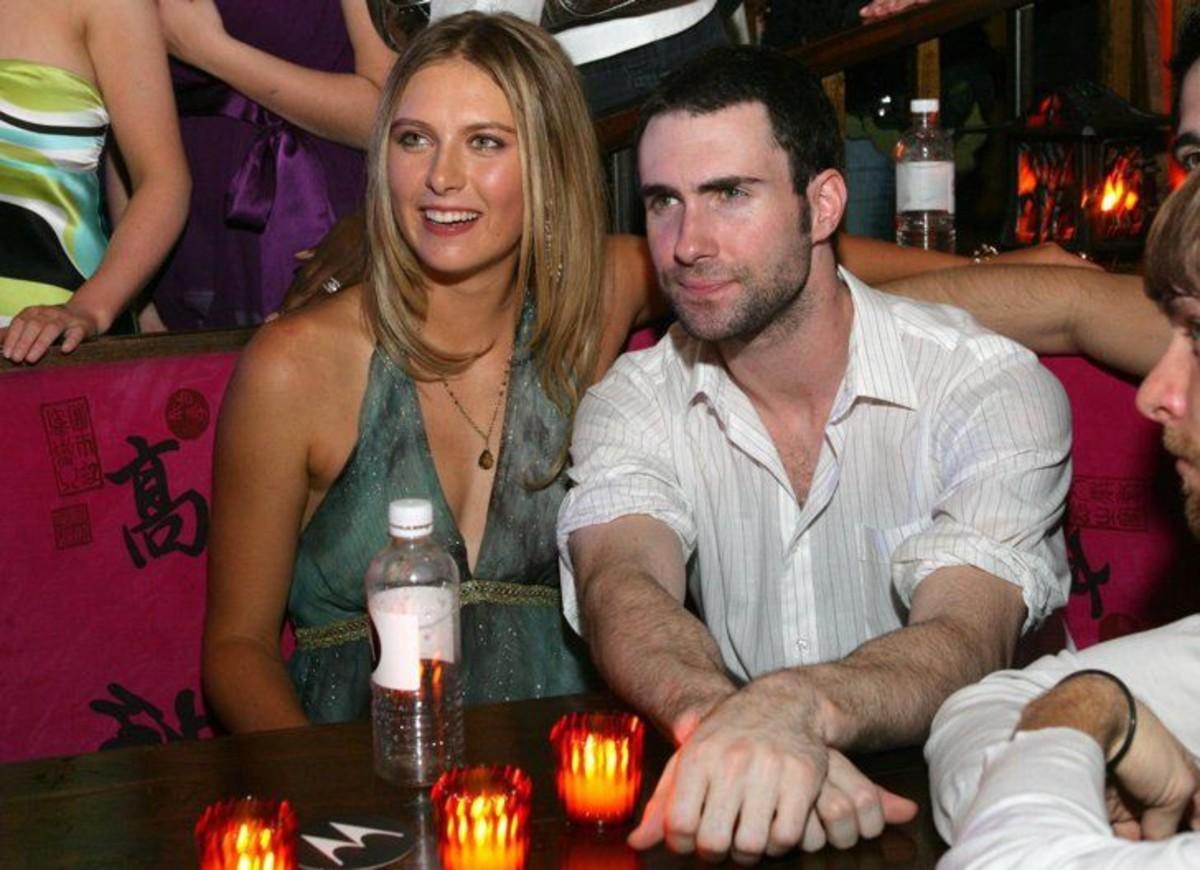 Adam Levine and Maria Sharapova