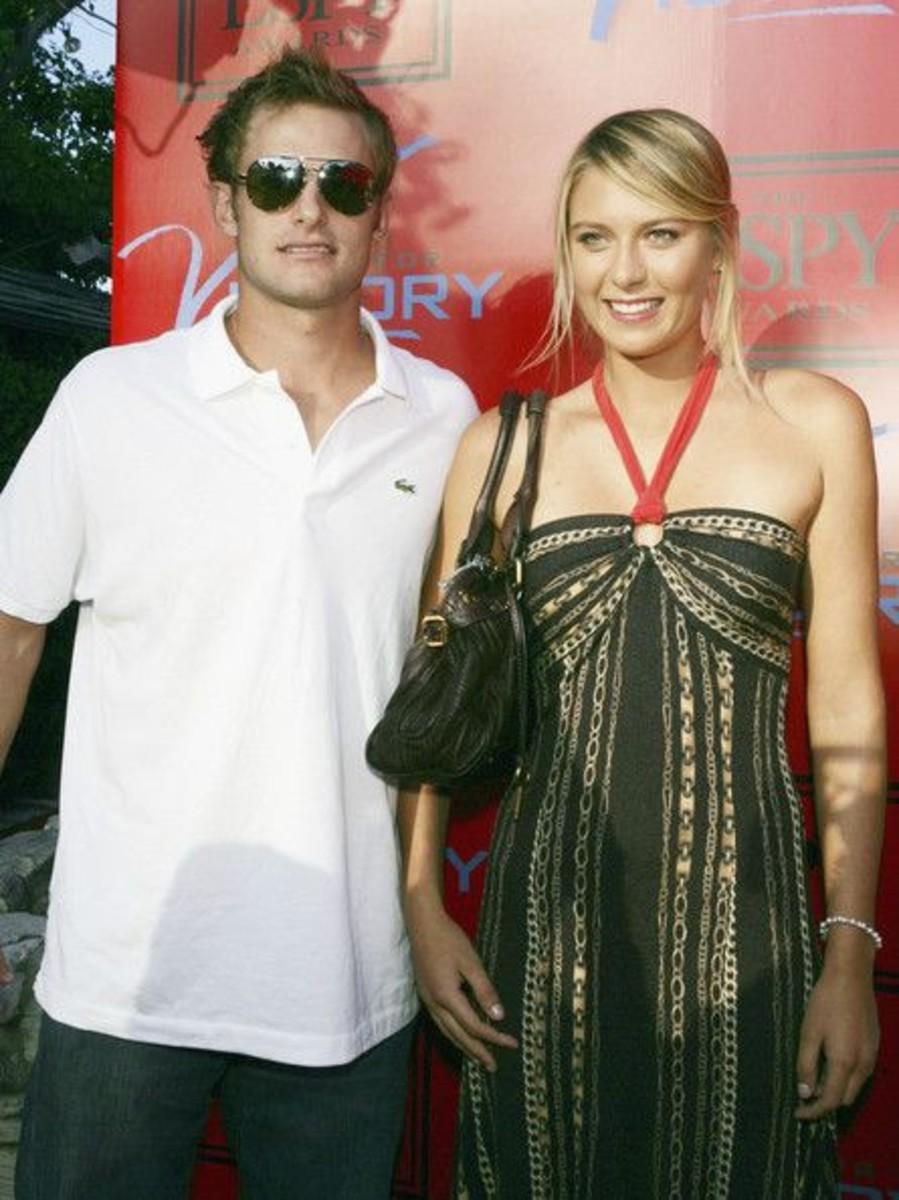 Grigor Dimitrov and Maria Sharapova