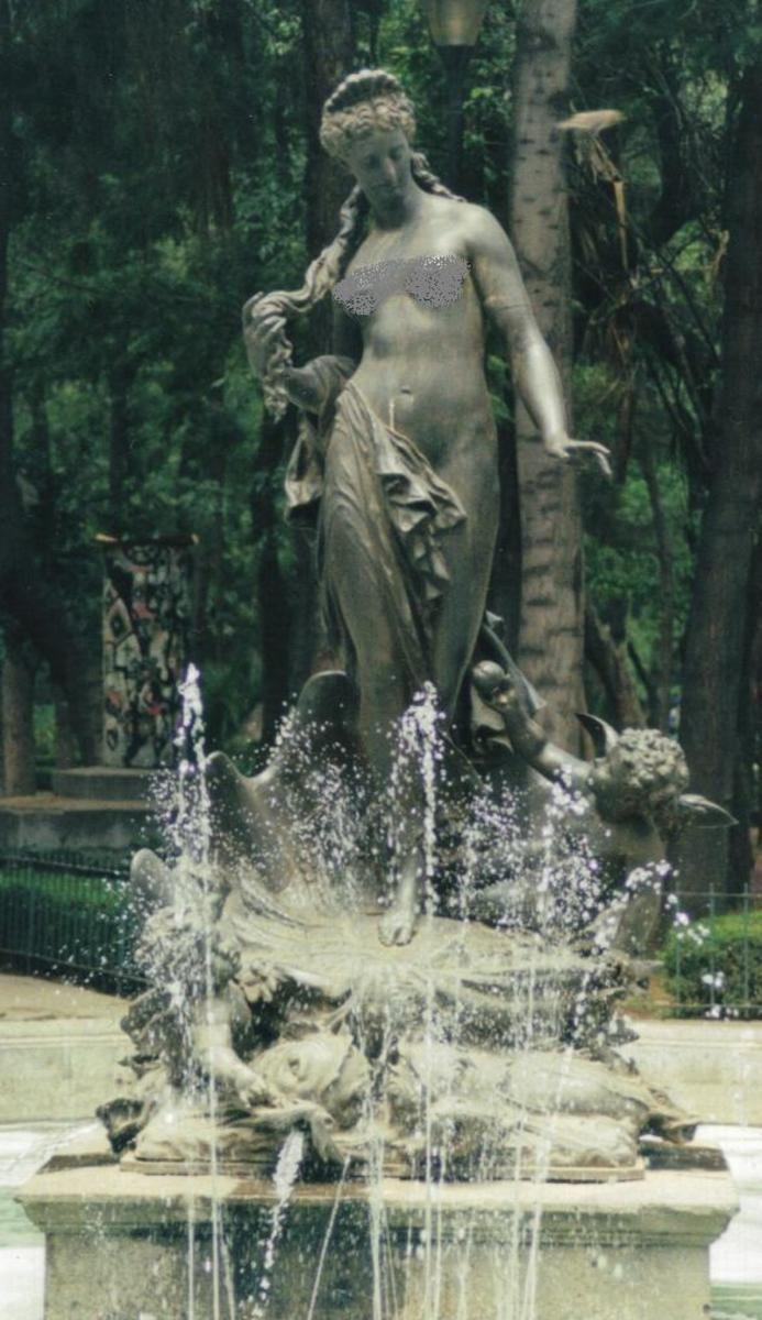 Aphrodite Fountain, Mexico City