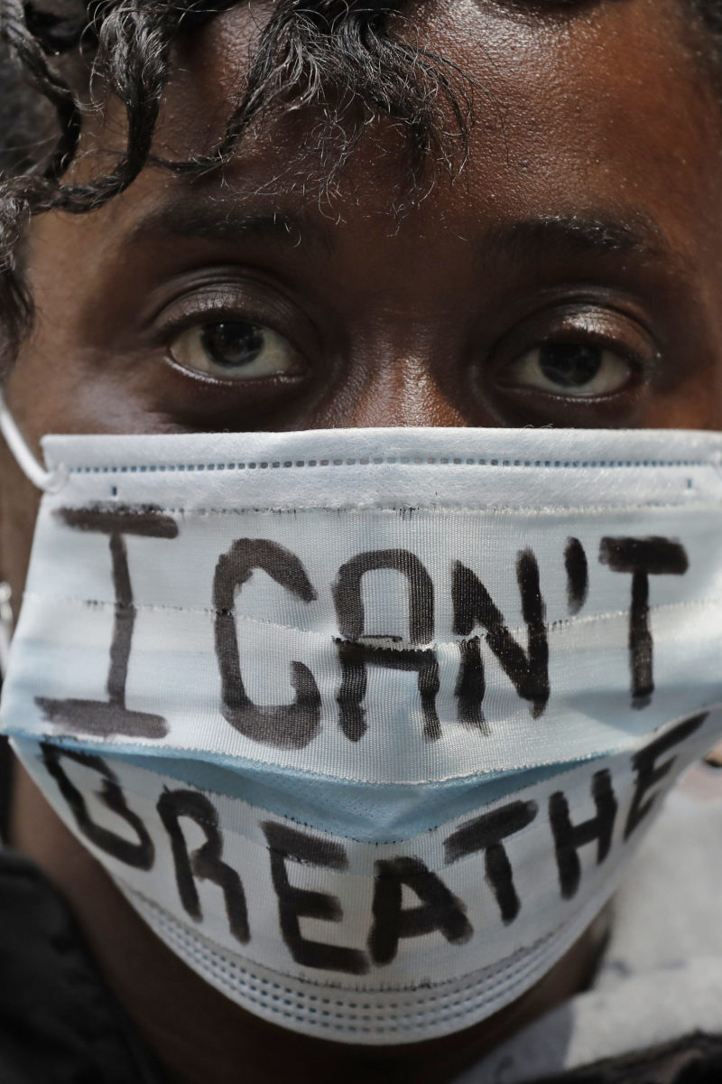 Chicago Protestor for George Floyd