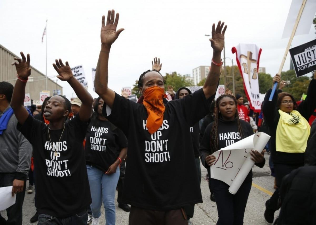 Protestors for Michael Brown