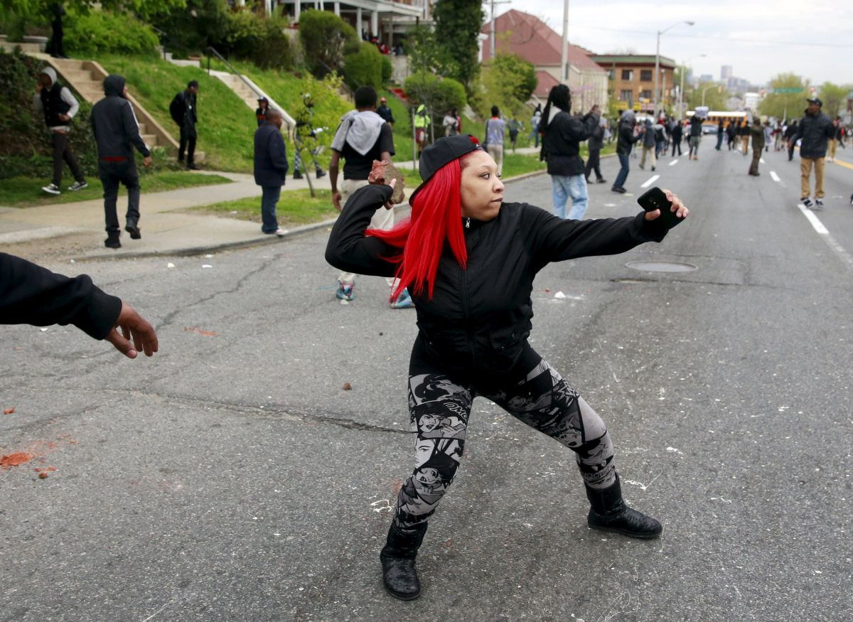Baltimore Rioter for Freddie Gray