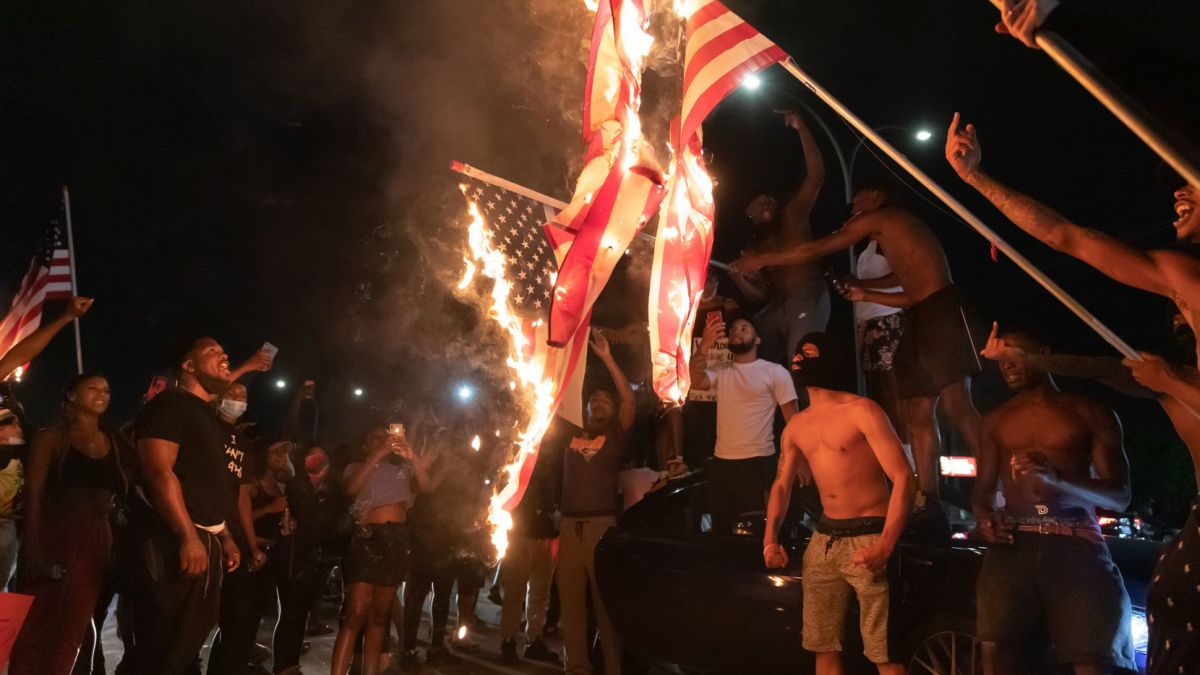America Hating Racialist Rioters
