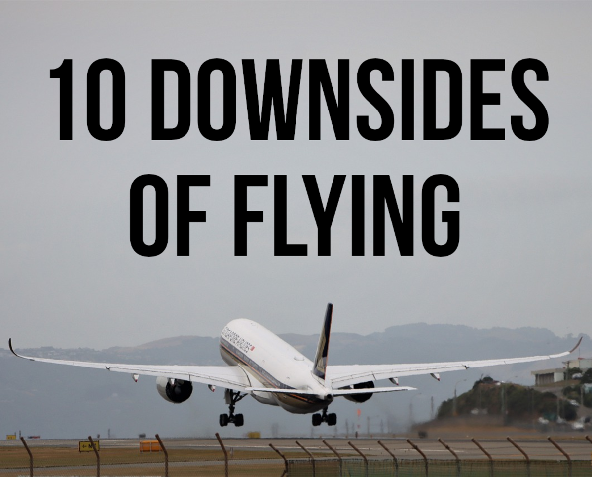10 Disadvantages of Travelling by Plane