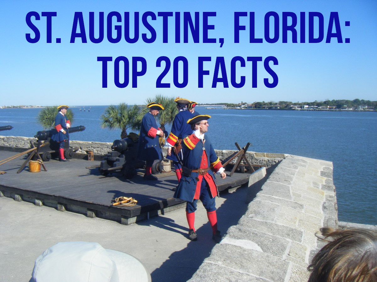 For my 20 facts about St. Augustine, please read on...